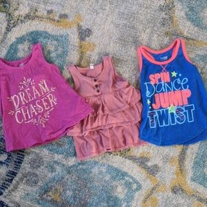 3 Size 4 Tank Tops